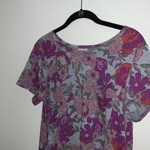 LULAROE - Floral Carly Dress